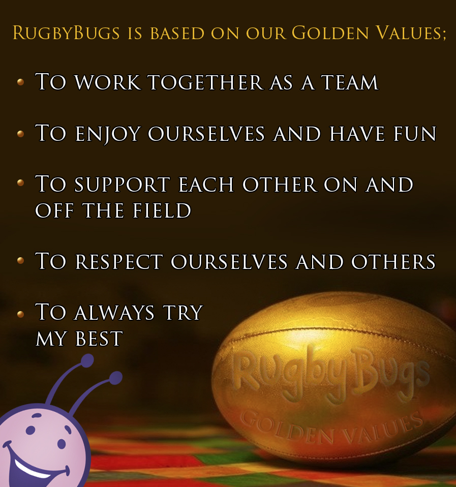 Rugby Bugs Golden Rules