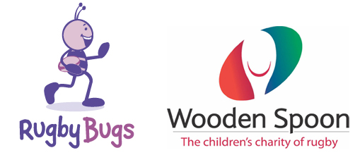 Wooden Spoon Charity and RugbyBugs working together