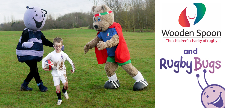 RugbyBugs and Wooden Spoon - Professional and Fun rugby coaching for children aged 2½ -7